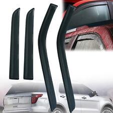 4x Vent Shade Rain Window Visors For Ford Explorer 11-16 2011 2013-2018 Base XLT