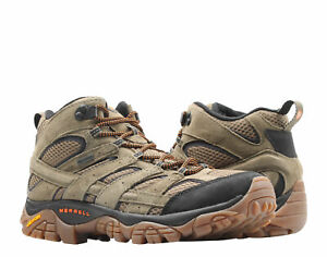 Merrell Moab 2 Leather Mid GORE-TEX Olive Men's Hiking Boots J589953