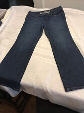 New York & Co Limited Edition jeans sz 16 Black Sparkled Pockets womens