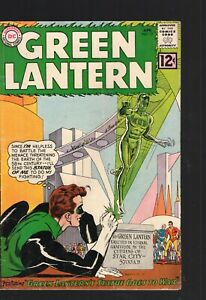 Green Lantern 12  silver age VG