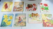 Vintage Get Well Sick Illness Greeting Cards Paper Collectible Lot