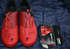 Specialized Expert Rd bike Shoes 43 size 9.6 red/black