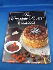 CHOCOLATE LOVERS COOKBOOK RECIPES 1985 CAKES COOKIES FUDGES SAUCES SOUFFLES