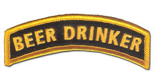 Wax Backed US Ranger Colors - Beer Drinker Tab - US Special Forces, US Infantry