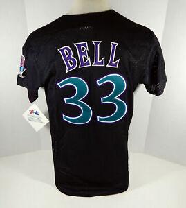 Arizona Diamondbacks Jay Bell #33 Authentic Black BP Jersey Majestic NWT M 637
