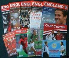 * FULL SET - ENGLAND 2006 WORLD CUP QUALIFYING PROGS *