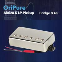 OriPure Handgefertigt Jahrgang Alnico 5 Humbucker LP Gitarre Brücke Pickup 8.4K