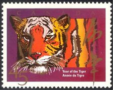 Canada 1998 YO Tiger/Cats/Animals/Nature/Zodiac/Fortune/Greetings 1v (n43427)