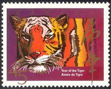 Canada 1998 YO Tiger/Cats/Animals/Nature/Zodiac/Fortune/Greetings 1v (n43427)