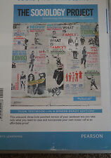 The Sociology Project Custom Edition for Highline College, Dr. Huo Sociology 101