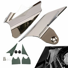 Reflective Chrome Saddle Shield Air&Heat Deflector Fit Harley Electra Glides EFI