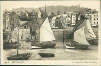 Honfleur Normandy Boats Vieux-Bassin    Qi.879
