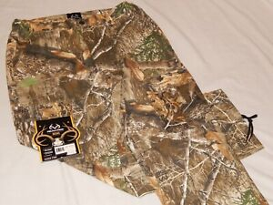 Realtree Edge Camo Cargo Pants Buck Horn Hunting Camouflage Jeans NEW Mens Sizes