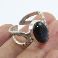 Sunstone Gemstone Ring Solid 925 Sterling Silver Handmade Jewelry