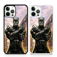 Black Panther Marvel Superhero Comic Book King T'challa Wakanda Phone Case Cover