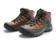 Keen Mens Targhee III Mid Waterproof Walking Boots - Brown Sports Outdoors