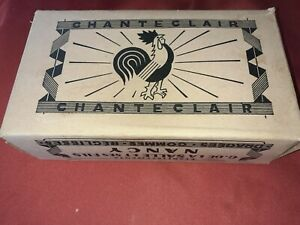 ANCIENNE  BOITE  CHOCOLATS  DRAGEES DE NANCY CHANTECLAIR