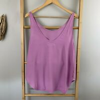 Shakuhachi Size 12 / M Purple Summer Tank Top Womens Singlet *Damage*