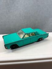 Vintage Lesney Matchbox #31 Lincoln Continental / Color Mint Green