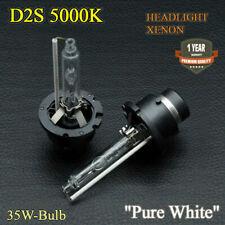 2x D2S Xenon Hid Bulbs Pure White 5000K Low Beam Headlights Volvo S40 MK2 04-07