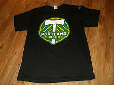 MLS PORTLAND TIMBERS Budweiser King of Beers T Shirt Sz Large L 100% Cotton