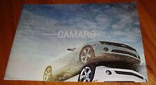 2012 Chevrolet Chevy Camaro Sales Brochure Coupe SS