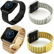 for Fitbit Blaze Replacement Link Metal Strap Secure Clasp Tracker Wristband
