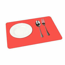 Silicone Pastry Bake- ware Baking Tray Rolling  Mat Sheet New - 30 cm x 40 - red