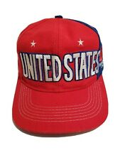Adidas United States World Cup Team Snapback Hat Cap US Soccer Red White Blue FS