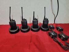 Lot of 4 Vertex Standard EVX-531-G7-5 Radio