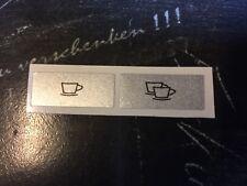Jura Impressa F50 / F5 Tastensymbol Aufkleber Sticker