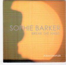 (EM770) Sophie Barker, Break The Habit sampler - 2014 DJ CD