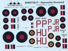 Operation Overlord 1/72nd scale decals