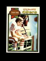 1979 Topps Football #233 Ken McAfee (49ers) NM-MT