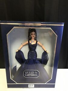 Limited Edition Royal Jewels Collection Queen of Sapphires Barbie In Orig. Box