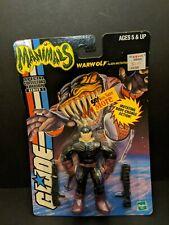GI Joe Manimals Warwolf Alien Mutation Expert Star Brigade Hasbro Moc