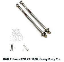 Bad Ass Unlimited RZR 1000 Heavy Duty Tie Rods 2014 ONLY, Polish Finish