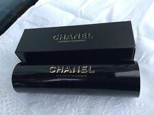 AUTH CHANEL Black Mystere Et Splendeur CC Faux Pearl Perfume Kaleidoscope in Box