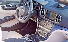 Mercedes-Benz OEM R231 SL Class Black Ash Wood Interior Trim Kit 7 Pieces 2013+