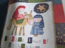 """Natividad En Patchwork 'Lisa REAKES cross stitch chart (sólo)"