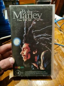 Bob Marley - Time Will Tell - PAL VHS Tape