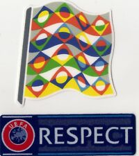 Nations League European Football Shirt Felt Patch Soccer Badge England France