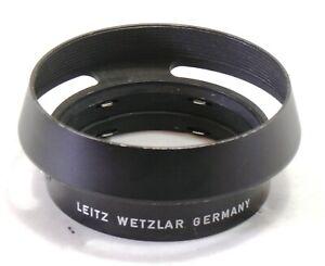 Leica Leitz lens hood 12585 for 50mm and 35mm lenses EXC++