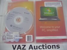 Microsoft Windows 7 Premium 64 bit x64 w/SP1 Full English MS WIN =NEW SEALED =
