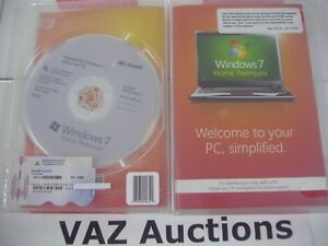 Microsoft Windows 7 Premium 64 bit x64 w/SP1 Full English MS WIN =NEW SEALED =