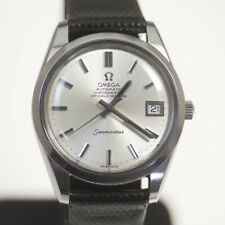 OMEGA Seamaster Chronometer 168.0061 Automatic Silver Dial Leather Men's