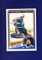 Grant Fuhr HOF 1984-85 O-PEE-CHEE OPC Hockey #241 (NM+) Edmonton Oilers