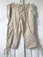 Almost Famous womens Capri pants