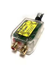 1 High/Low Wire to 2 Rca Line Level Converter + Built-in 12 Volt Remote Turn-On