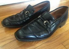 Mezlan BlacK Leather VOSS Loafers - Shoe Size: 11M